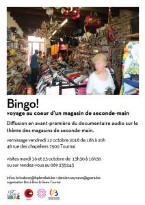Bingo! Art dans la ville Tournai